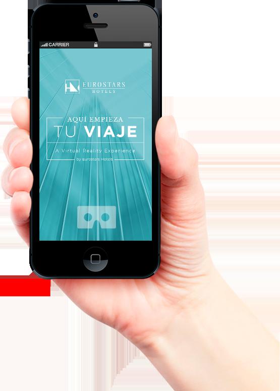 Eurostars VR app